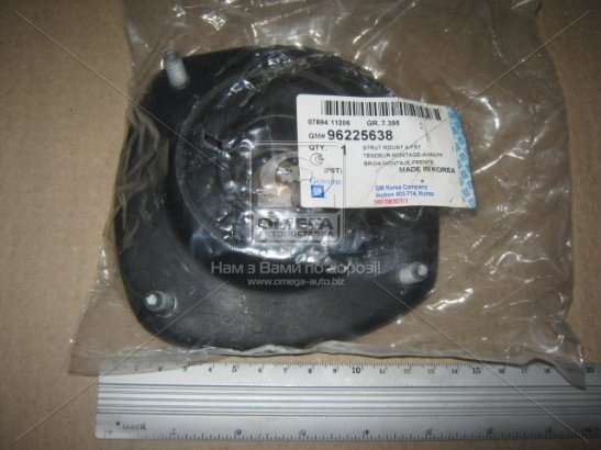 96225638 GENERAL MOTORS Верхняя опора передних стоек Ланос старого образца (GM)