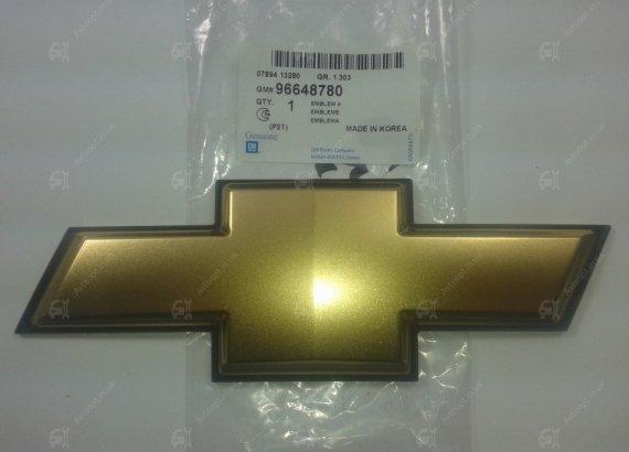 96648780 GENERAL MOTORS Эмблема-крест решетки радиатора Авео-3 (GM)
