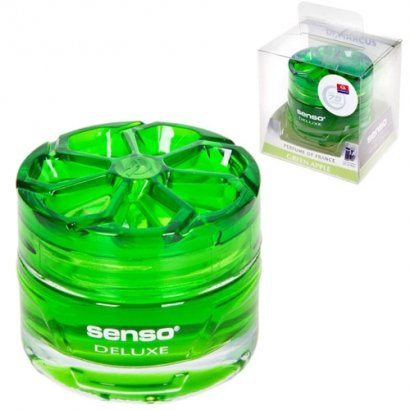 Осв.воздуха гель DrMarkus Senso Delux Green Apple 40ml - 280 (12)