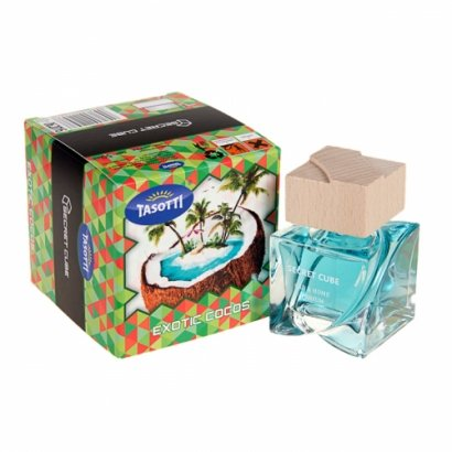 "Осв. воздуха Tasotti аэрозоль ""Secret Cube"" Exotic Coconut 50ml - (16/48)"